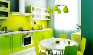 سبز دکوراسیون آشپزخانه
