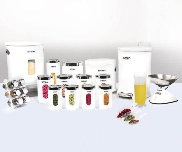 سرویس آشپزخانه 22 پارچه لیمون