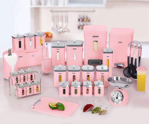 سرویس آشپزخانه 37 پارچه لیمون
