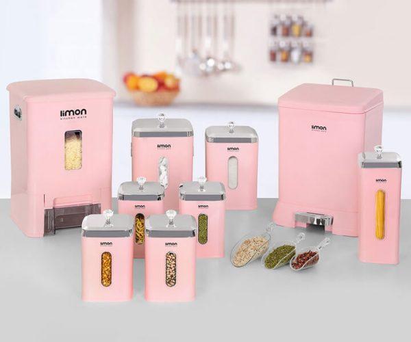 سرویس آشپزخانه 9 پارچه لیمون